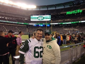 Mark and Greg on Field