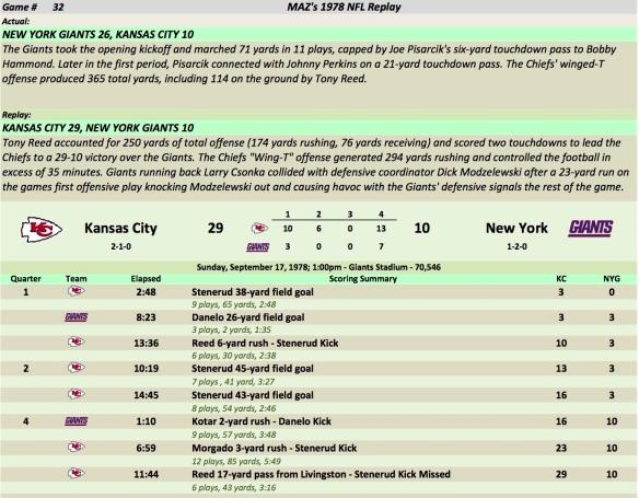 Game 32 KC at NYG