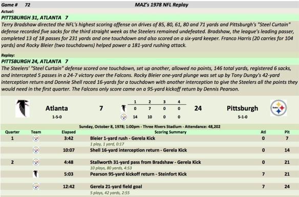 Game 72 Atl at Pit