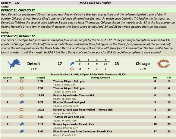 Game 122 Det at Chi