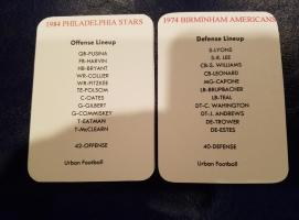 Philadlphia Offense vs Birminham Defense