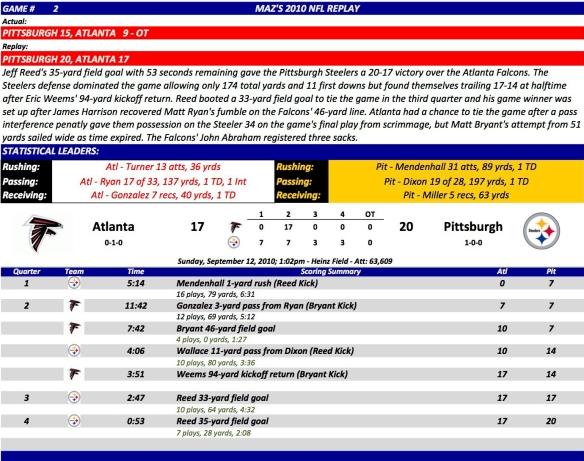 Game 2 Atl at Pit