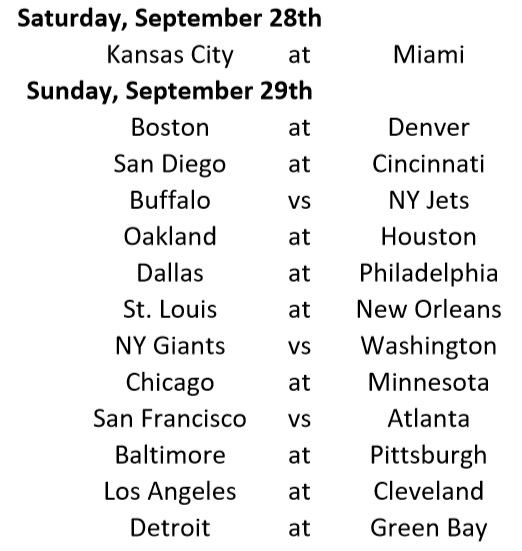 afl  nfl upcoming schedule