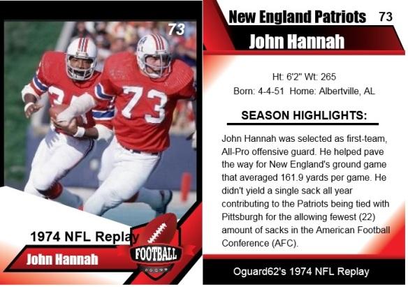 1974 John Hannah