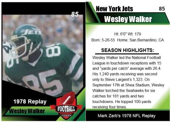 1978 Wesley Walker Card
