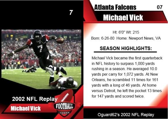 2002-michael vick card