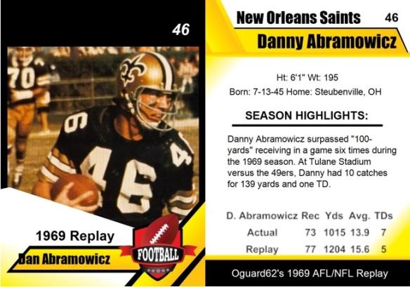 1969 - Danny Abramowicz