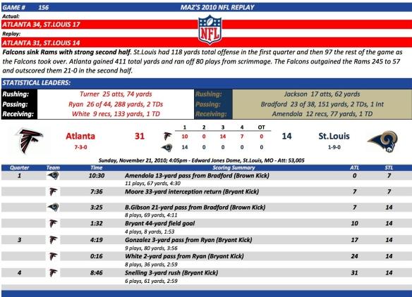 Game 156 Atl at StL