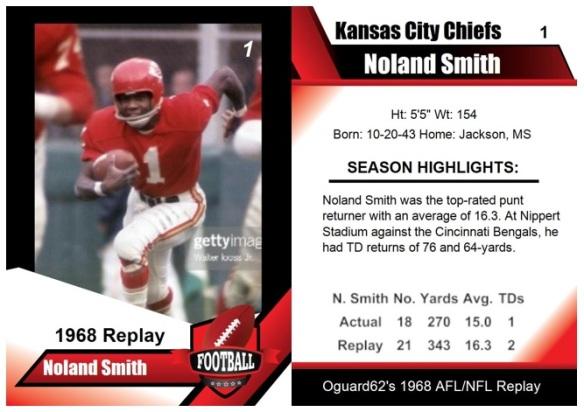 1968 - Noland Smith Card