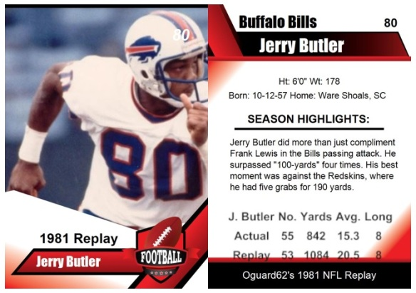 1981 - Jerry Butler Card