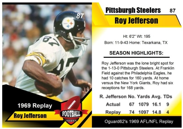 1969 - Roy Jefferson Card