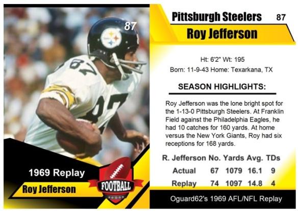 1969 - Roy Jefferson Card